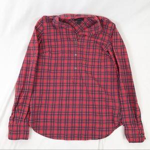 J.Crew holiday button down shirt